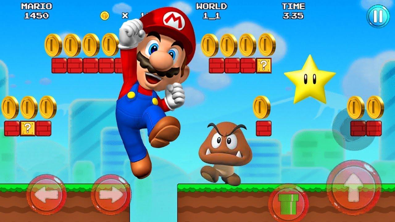 Diagnosticar Supermercado profesor  Mario Bros - Juegos Para Niños Pequeños - Super Mario Rush #2 - YouTube