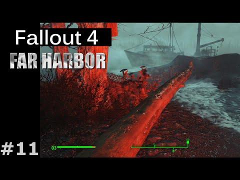 """Fallout 4 [Far Harbor DLC] #11 - """"Самый страшный монстр"""" (Красная Смерть)"""