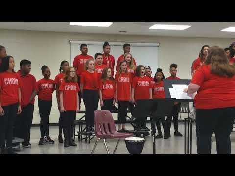 Hodie - Cousins Middle School - 6th grade choir - Ms. Firkus
