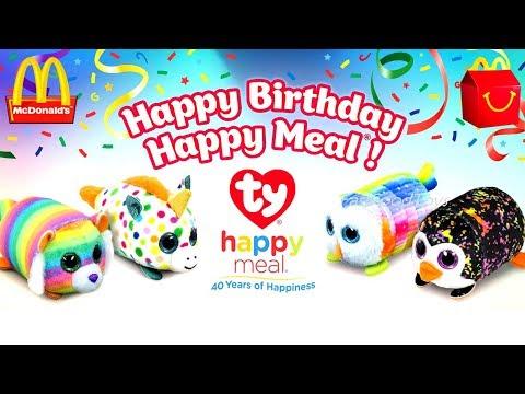 02be53f06b7 2019 McDONALD S TY TEENIE TEENY TYS HAPPY MEAL TOYS 40 YEARS ...
