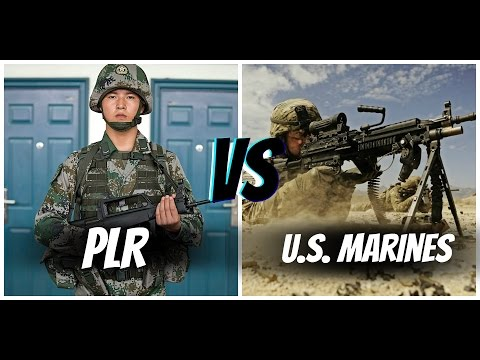 American Marines VS Chinese PLR (America VS China)