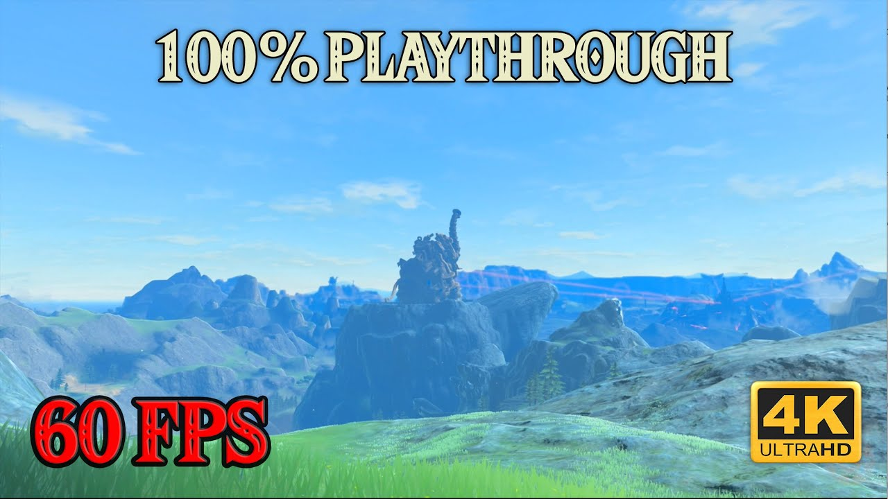 Zelda Breath of the Wild - 100% Playthrough [4K 60FPS CEMU] Part 18 ~ Mipha's Trial