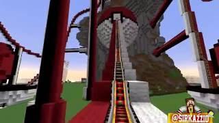 Minecraft: MONTANHA RUSSA POKÉMON?! :O (Pokémon Roller Coaster)