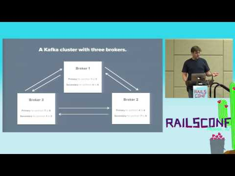RailsConf 2017: Processing Streaming Data at a Large Scale with Kafka by Thijs Cadier