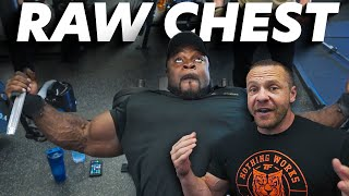 RAW Chest Training with Mr. Olympia Brandon Curry - 25 Weeks Out!