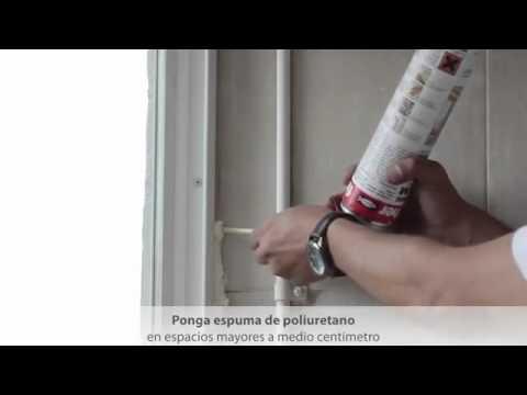 Instalaci n de ventana aislante de 140 ventanas aislantes - Precios ventanas pvc climalit ...