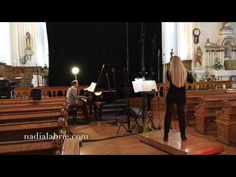 Extrait enregistrement CD Schubert, Nadia Labrie (flûte) et Mathieu Gaudet (piano)