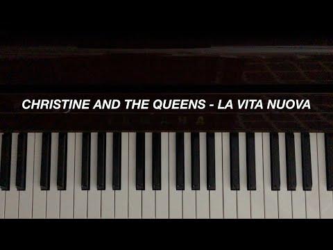 Christine And The Queens, Caroline Polachek - La Vita Nuova (Piano Cover)