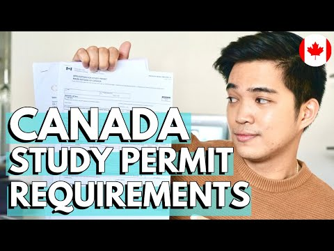HOW TO APPLY FOR CANADA STUDY PERMIT: Requirements For International Students (Buhay Sa Canada)