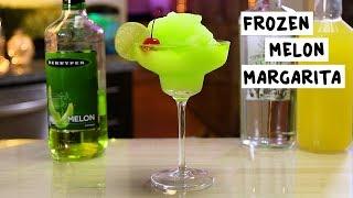 Frozen Melon Margarita