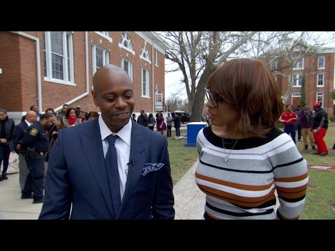 "Dave Chappelle at Allen University: ""With great power comes great responsibility"""