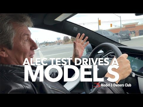 A BMW owner drives a Model S | Model 3 Owners Club