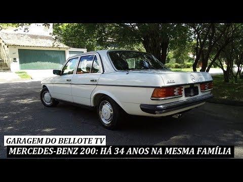 Mercedes-Benz 200 (W123): há 34 anos na mesma família