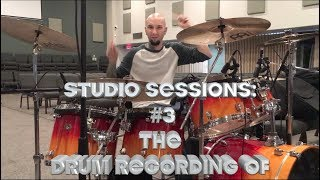 "STUDIO SESSIONS: #3 LEE KRABBE-""Invisible""-DRUM RECORDING"
