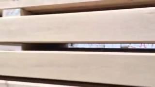 Брус из лиственницы: цельный и клееный (видео)