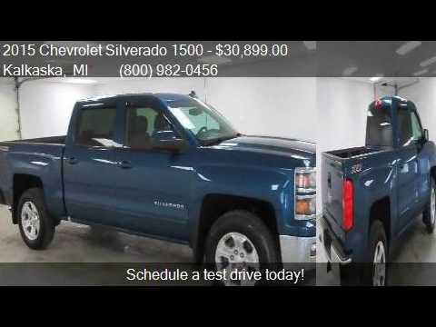 2015 chevrolet silverado 1500 lt for sale in kalkaska mi for Voice motors kalkaska michigan