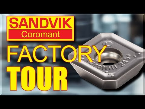 Sandvik Coromant - AMAZING Factory Tour!