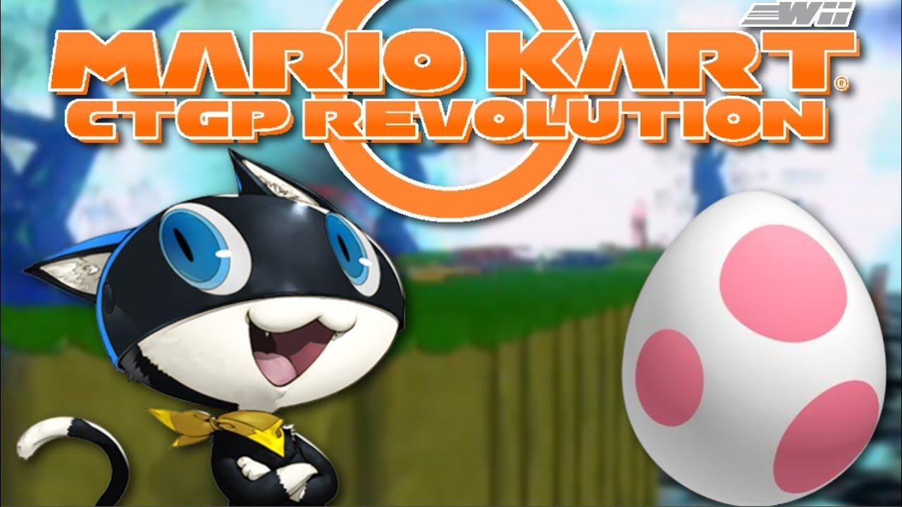 Mario Kart Wii Custom Tracks Birdo Egg Cup Shadow The Gamer