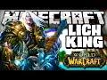 Minecraft: LICH KING! (ARMADURA, ESPADA) - World of Warcraft Mod
