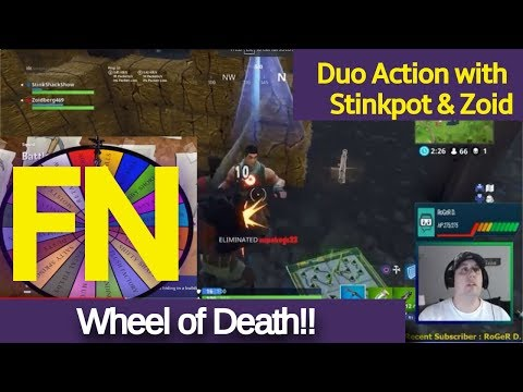 FORTNITE - Season 4 - Wheel of Death!!