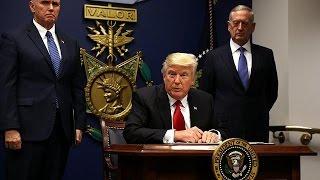 Sturm der Empörung nach Trumps Muslimen-Dekret