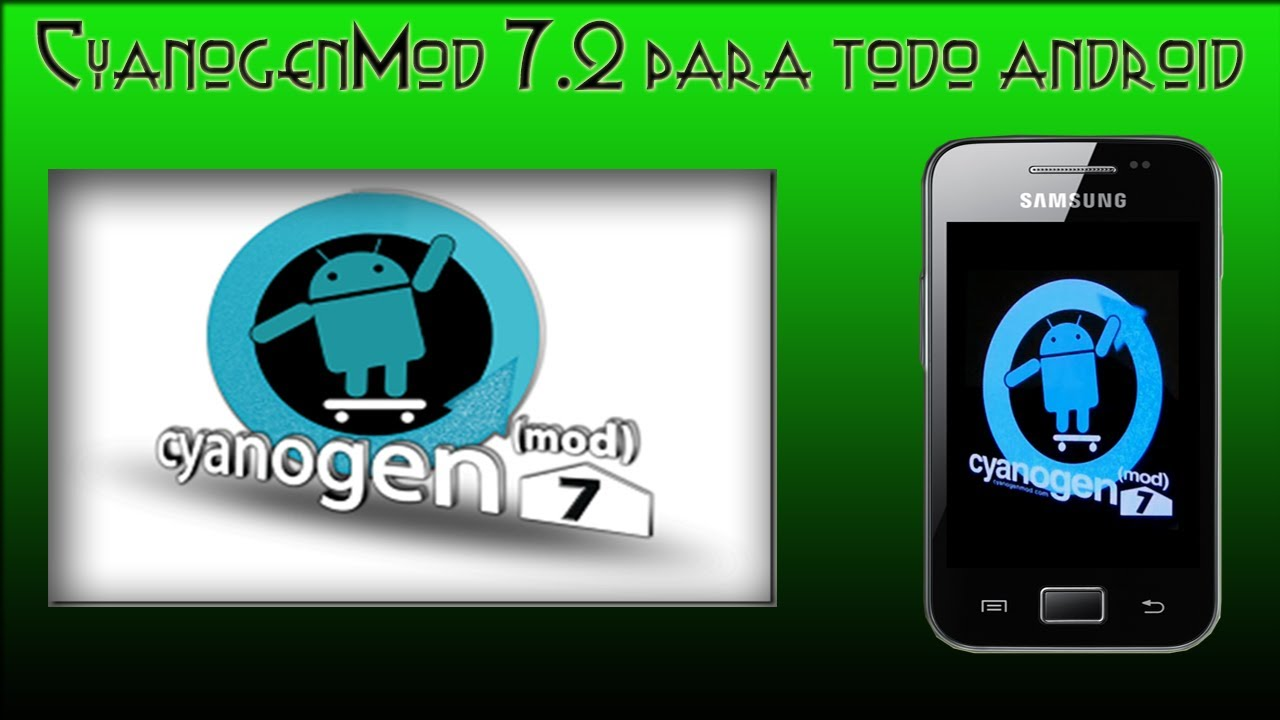Rom android para galaxy ace
