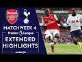 Arsenal v. Tottenham | PREMIER LEAGUE HIGHLIGHTS | 9/1/19 | NBC Sports