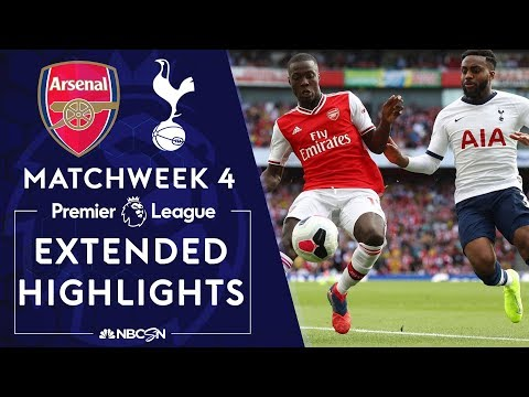 Arsenal V. Tottenham | PREMIER LEAGUE HIGHLIGHTS | 9/1/19 | NBC Sports