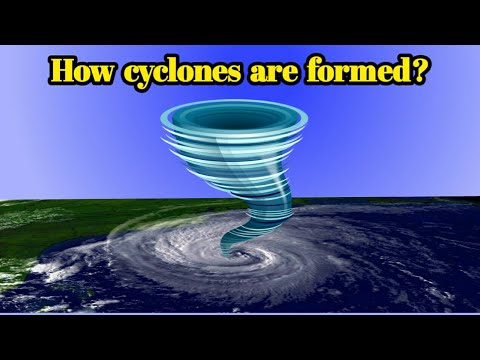 How cyclones are formed | How it forms