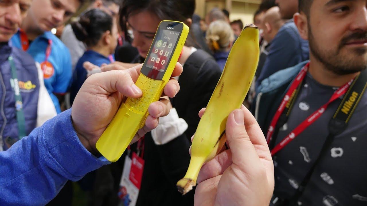 Nokia 8110 – telefon, który pomylisz z bananem