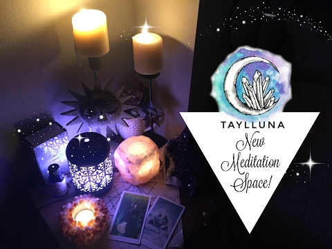 My New Meditation Space! // Taylor Marie