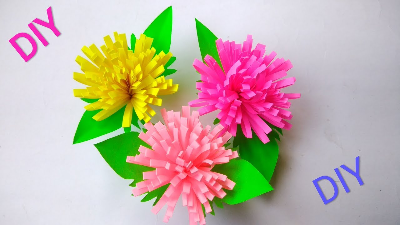 Diy how to make a beautiful paper flowers amazing tutorial diy how to make a beautiful paper flowers amazing tutorial izmirmasajfo