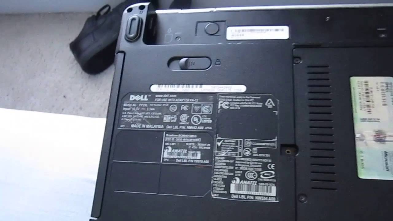 Dell Inspiron 1525 Optical Drive (CD/DVD-RW Drive) Replacement