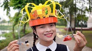 Trò Chơi Chiếc Mũ Đồ Ăn ❤ BIBI TV ❤