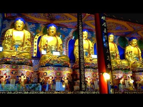 峨眉山報國寺大雄寶殿七佛寶殿 Bao Guo Temple Emeishan, Sichuan (China)