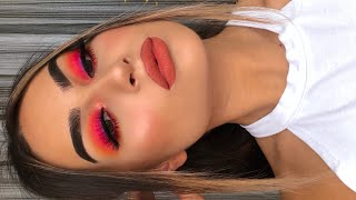 Affordable Hot Pink Makeup Tutorial I Aylin Melisa