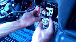 How to repair   Ako vymeniť spínaciu skrinku    auto nenaštartuje