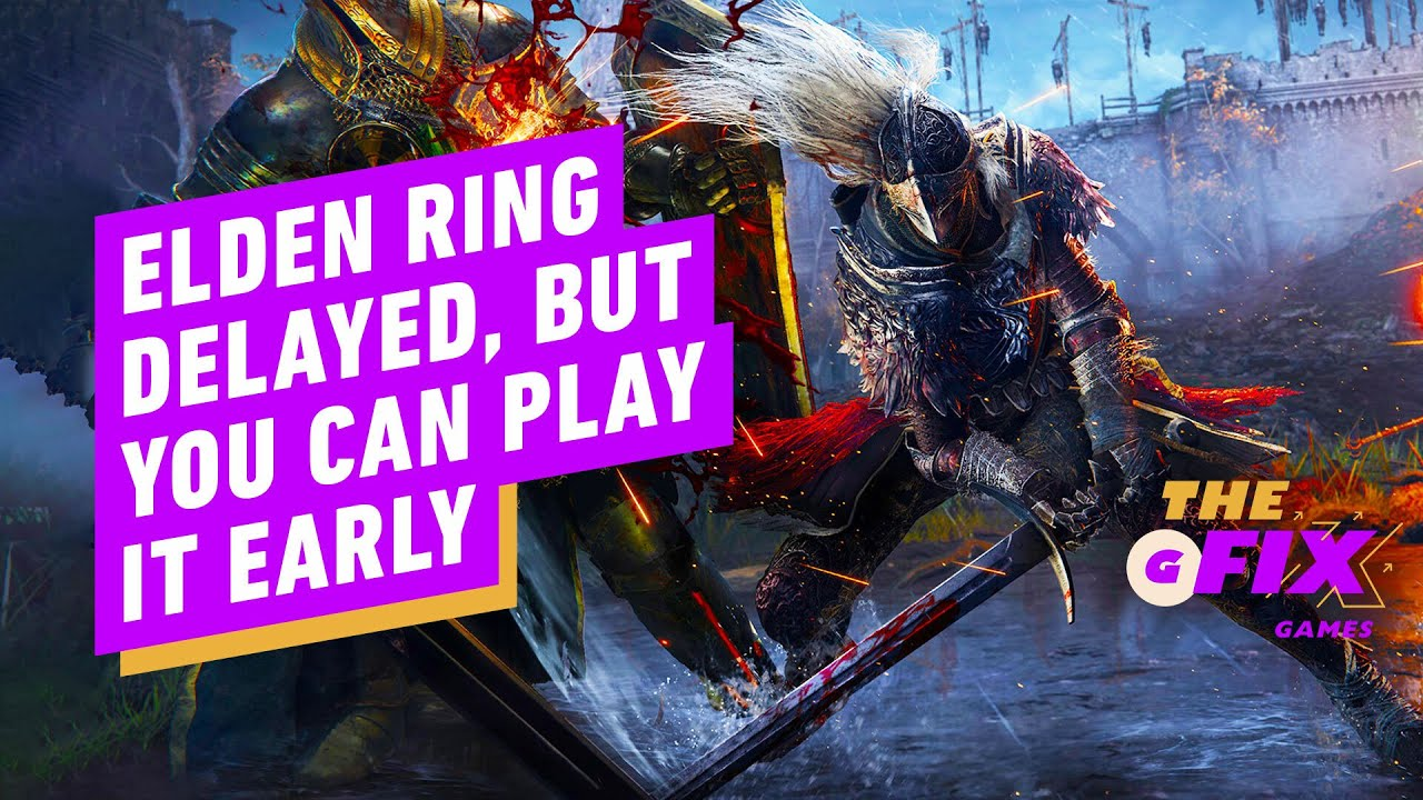 Elden Ring has been delayed, but only by a month
