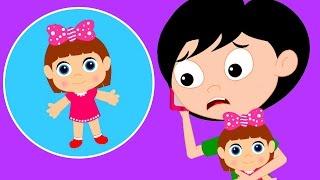 У мисс Полли была кукла | Детские песни | Детская музыка | Miss Polly | Kindergarten Rhyme Songs