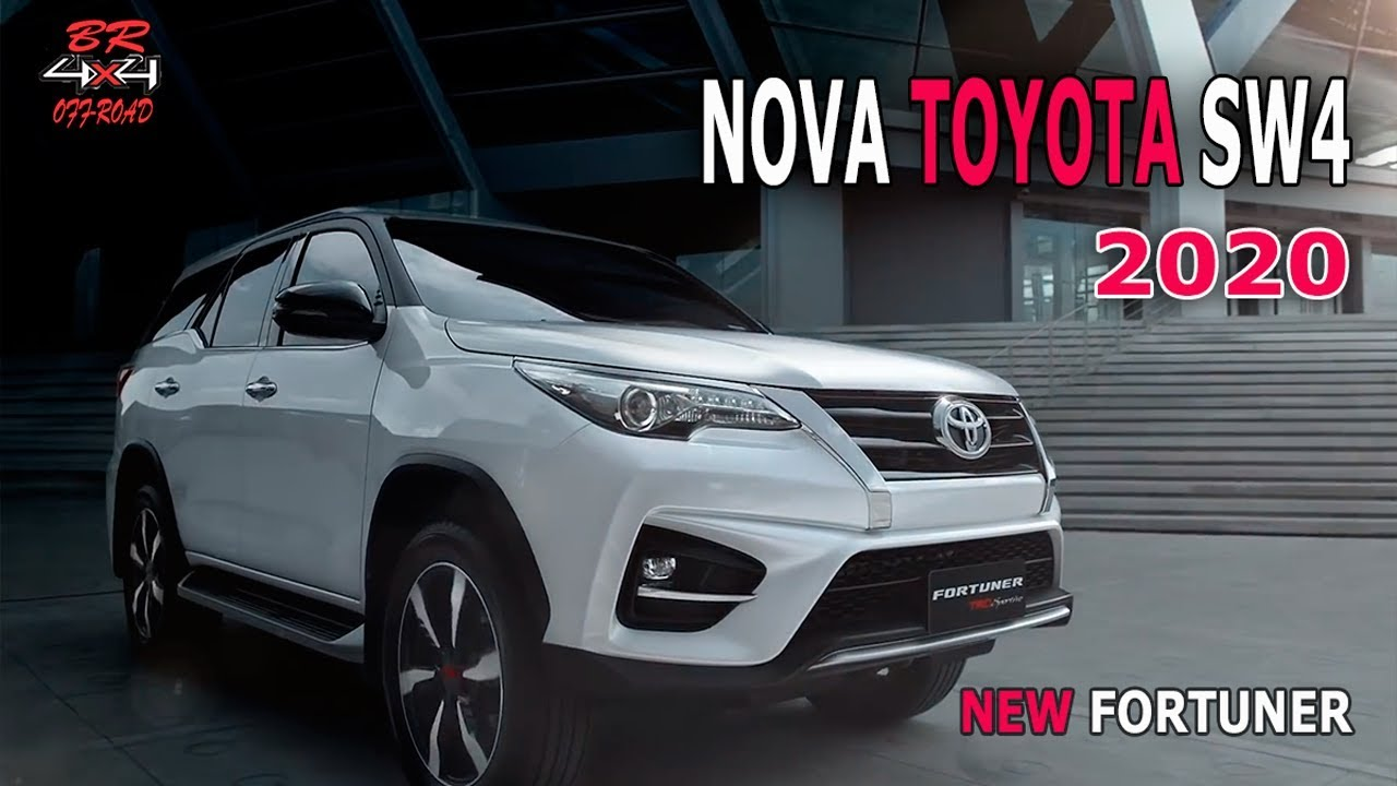 NEW TOYOTA HILUX SW4 2020 (FORTUNER) FACELIFIT - YouTube