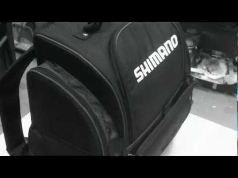 Fishing Backpack : Shimano fully stocked