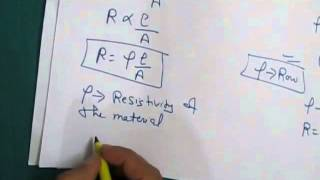 RESISTIVITY OF CONDUCTOR CLASS 10TH ELECTRICITY PART-13