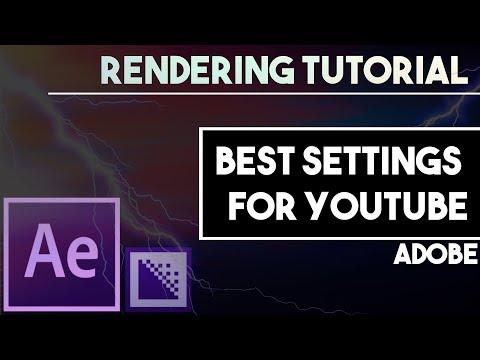 Adobe rendering tutorial [After Effects / Media Encoder] thumbnail