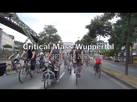 Critical Mass Wuppertal - September 2016