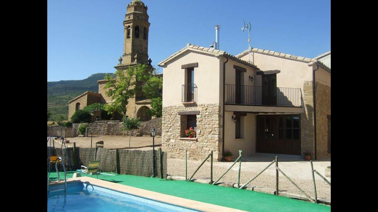 Casas rurales Casa Bernués con piscina, jardín y barbacoa en Aniés, Huesca  Fotoalquiler casabernues