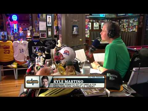 Kyle Martino on the Dan Patrick  Full  62314
