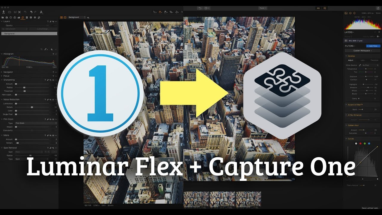 Video: How to use Luminar Flex in Capture One — Thomas