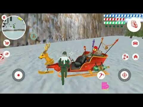 Crime Santa # New Santa Rope Hero Countdown Follow (Naxeex LLC) Android Gameplay HD