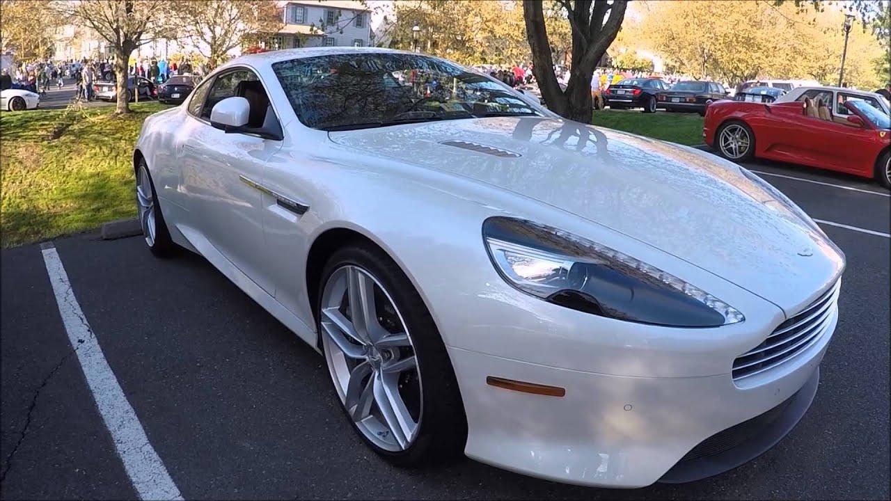 Aston Martin Db9 Interior Walkaround Youtube