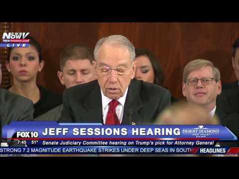 PART 1: Jeff Sessions Testifies at Attorney General Confirmation Hearing Amid Protests